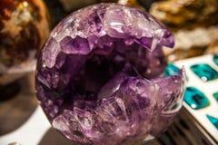 Утесы и минералы Стоковое фото RF