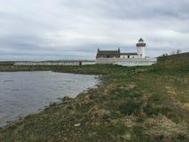 Утесы и море в Galloway, Ирландии Стоковые Изображения RF