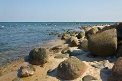 Утесы и море Стоковая Фотография RF