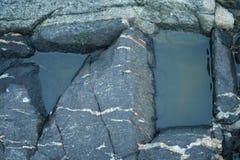 Утесы, камень, живая природа севера Стоковые Фотографии RF