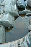 Утесы, камень, живая природа севера Стоковое фото RF
