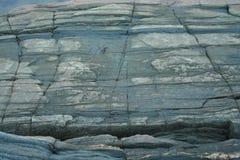 Утесы, камень, живая природа севера Стоковое Изображение