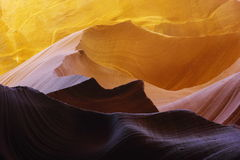 Утесы каньона антилопы Стоковые Фотографии RF