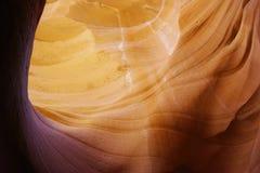 Утесы каньона антилопы Стоковое Изображение RF