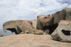 утесы кенгуруа острова замечательные Стоковая Фотография