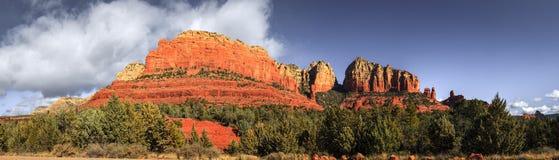 Утесы красного цвета Аризоны Стоковая Фотография RF