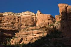 утесы красного цвета каньона boynton Стоковая Фотография