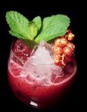 утесы красного цвета мяты коктеила вкусные Стоковые Изображения