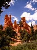 утесы красного цвета canyonland стоковые изображения