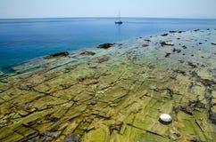Утесы моря стоковые фото