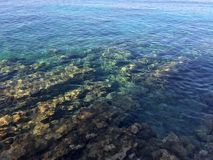 Утесы моря стоковая фотография rf
