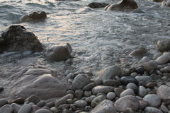 Утесы на море Стоковые Фото