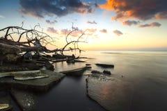 Утесы & небо Стоковая Фотография RF
