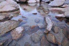 утесы озера Стоковые Фотографии RF