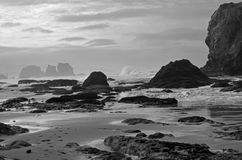 утесы океана стоковые изображения rf