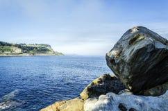 Утесы океана Стоковое Изображение RF