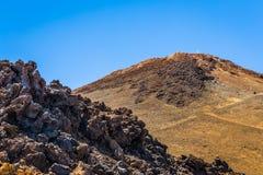 Утесы от Teide Стоковое Изображение RF