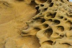 Утесы & песок Стоковые Фото