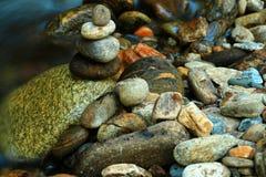Утесы пирамид из камней Стоковое фото RF