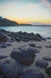 Утесы пляжа #1 Punggol Стоковая Фотография RF