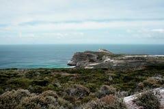 Утесы побережья океана Стоковое Изображение RF