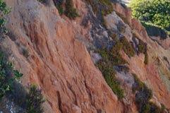 Утесы Португалии Юг Португалии - Алгарве Стоковая Фотография RF