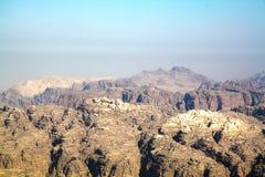Утесы пустыни в Иордане Стоковая Фотография RF