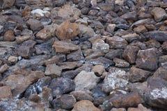 Утесы пустыни, горы атласа Стоковые Фото