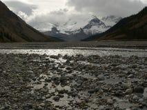 утесы реки льда Стоковые Изображения RF