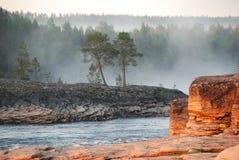 Утесы реки Стоковые Фотографии RF