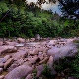 Утесы реки Стоковые Фото