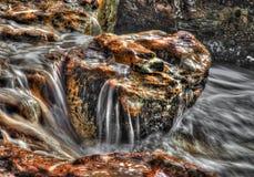 Утесы с водой стирки на Nightcliff, северных территориях, Австралии Стоковое Фото