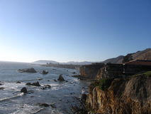 утесы california Стоковые Изображения RF