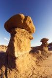 Утесы Hoodoo парка штата долины гоблина Стоковые Изображения RF
