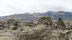 Утес лавы Стоковое Фото