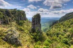 Утес башенкы, Мпумаланга, Южная Африка Стоковая Фотография RF