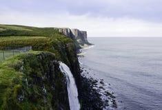 Утес водопада и килта Mealt Стоковая Фотография