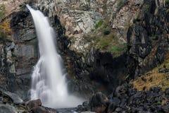 Утес водопада облицовывает осень Стоковая Фотография RF