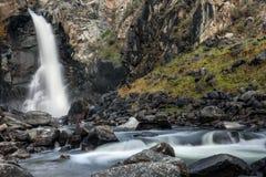 Утес водопада облицовывает осень Стоковая Фотография