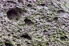 утес вулканический Стоковая Фотография
