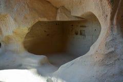 Утес высекая в cappadocia Стоковое фото RF