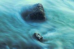 Утес в воде Стоковое фото RF