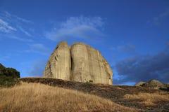 Утес в Meteora в Греции Стоковое Изображение RF