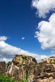 Утес в Meteora стоковая фотография rf