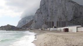 утес Гибралтара видеоматериал