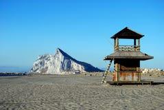 Утес Гибралтара. Стоковая Фотография RF