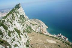 Утес Гибралтара Стоковое фото RF