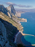 утес Гибралтара Стоковая Фотография RF