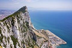 утес Гибралтара Стоковое Фото