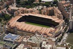 Утес город principaute Монако и Монте-Карло в th Стоковая Фотография RF